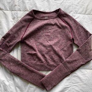Tops - Vital Seamless Long Sleeve Crop Top